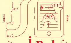 affiche archief met tekst met biblogo
